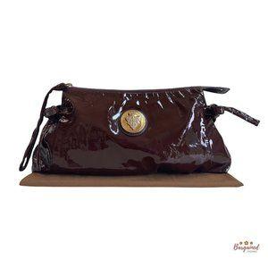 Authentic GUCCI Patent Hysteria Clutch Bag 197015